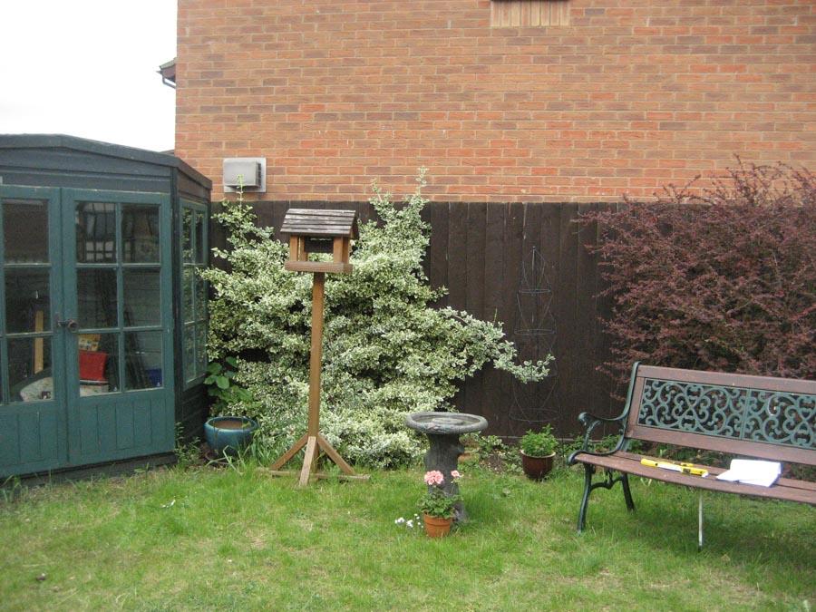 Before summerhouse