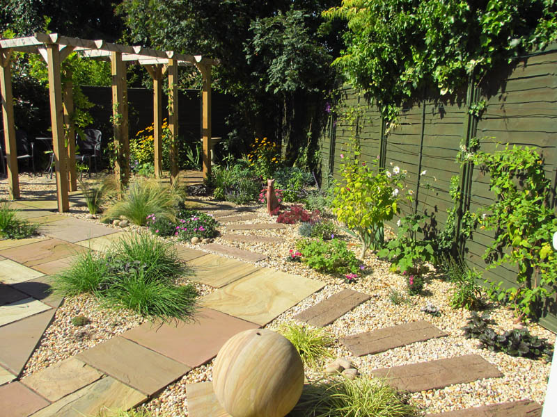 Completed Garden Right Side