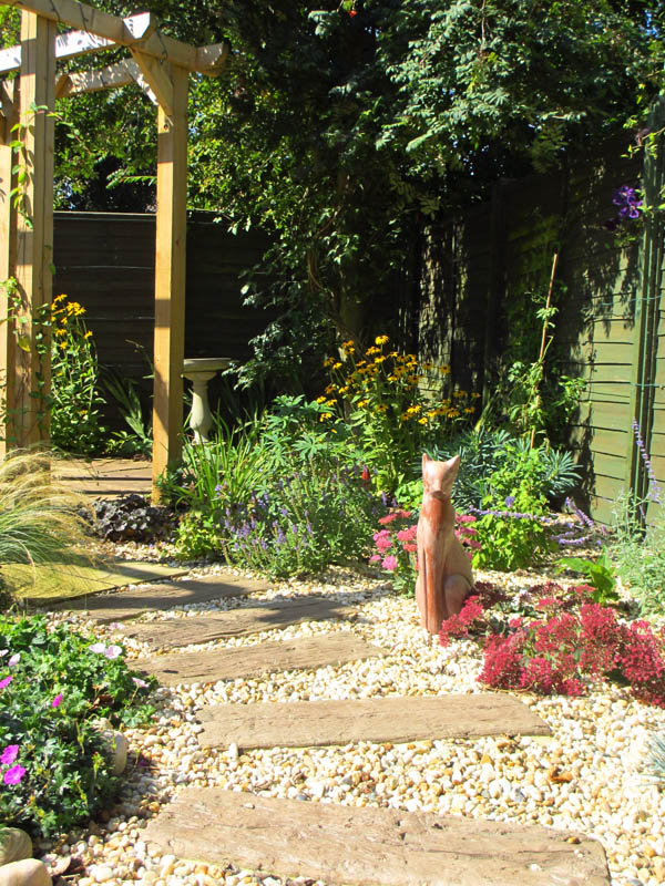 Completed Garden Right Side Close Up