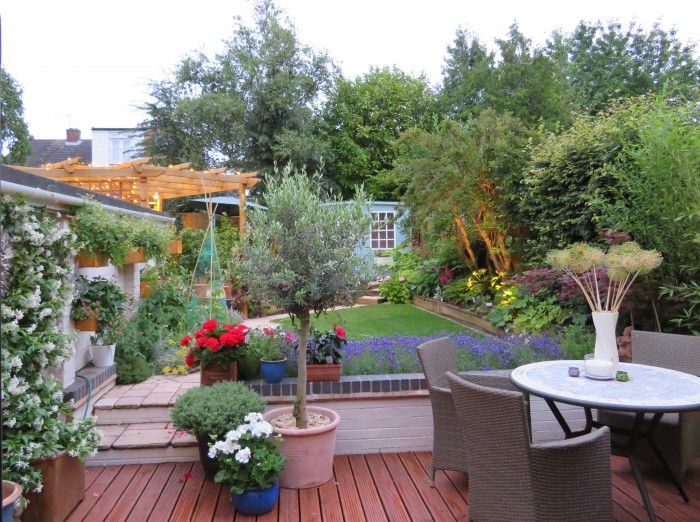 Small_Space_Garnening_Evening_View_From_House_DebbieCooke.com