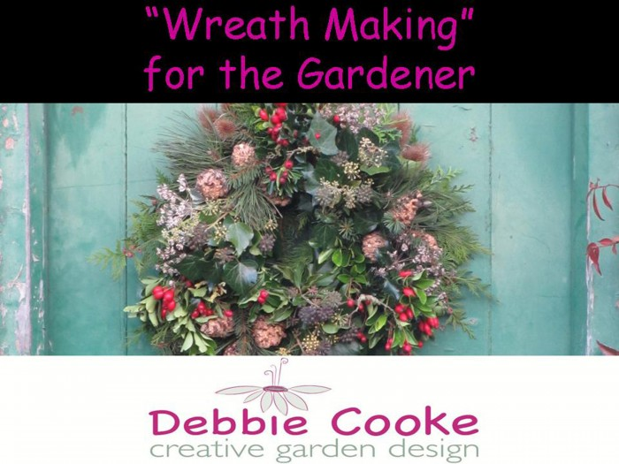 Wreath_Making_for_the_Gardener_Garden_Speaker_DebbieCooke.com